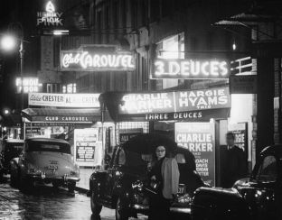 New York Ende der 40er Jahre