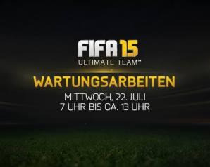 FIFA 15 Server Offline Wartungsarbeiten