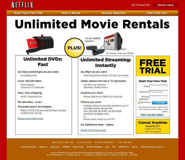 Mit der Streaming-Revolution kommt auch die Design-Revolution bei Netflix.