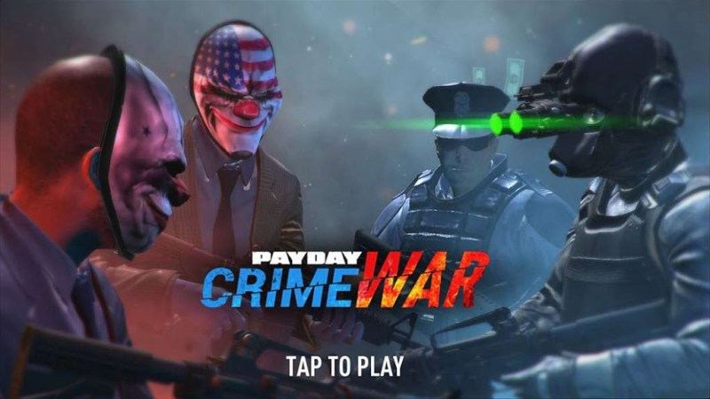 PAYDAY Crime War APK MOD Android Apk + OBB