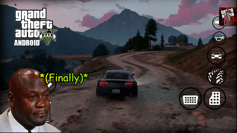 [300 M.B.] GTA 5 Unity Latest Apk + Data Download