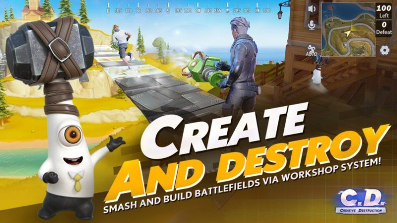 Creative destruction mod apk Latest version (Aimbot, No root)
