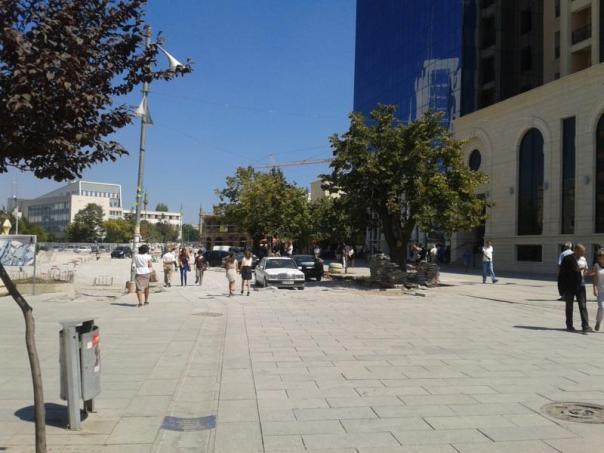 Parte moderna , en Pristina .