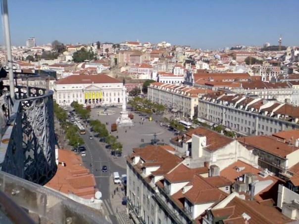 Lisboa desde arriba .