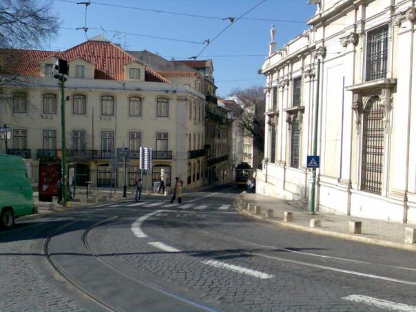 Paseando por Lisboa .
