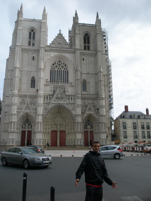 Turisteando , en Nantes .