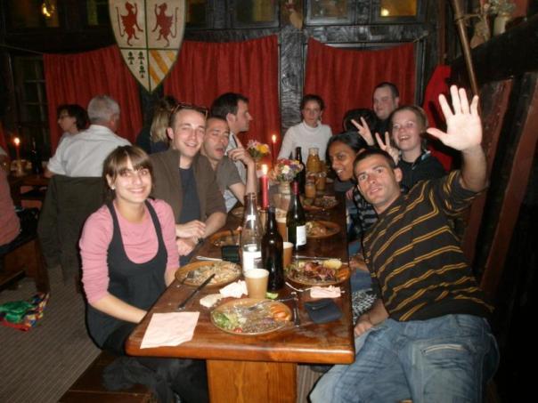 Restaurante Medieval ., en Rennes .