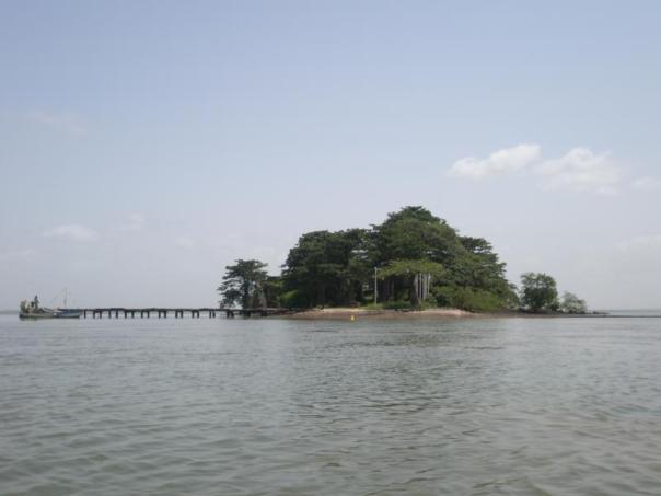 Isla de Kunta Kinte , Gambia .