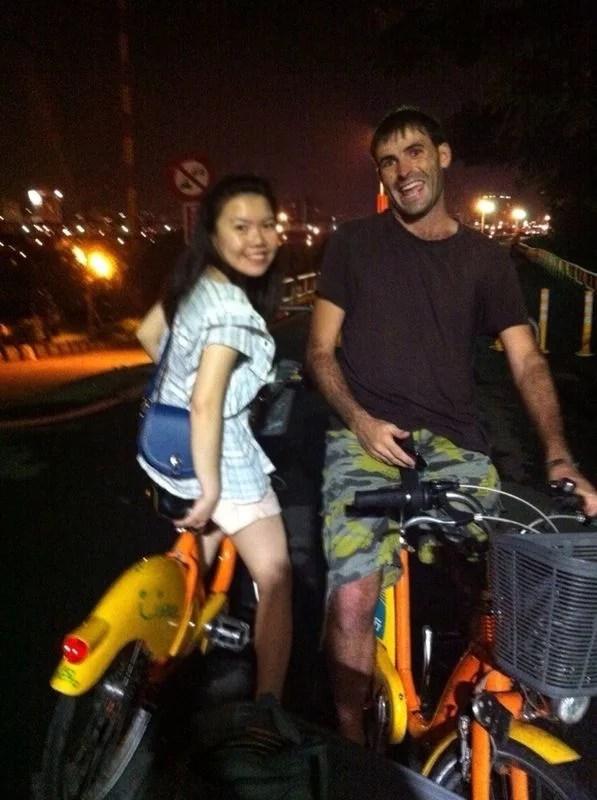 Traveling Taiwan. Bicycle.