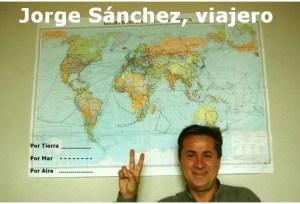 Entrevista al viajero Jorge Sánchez