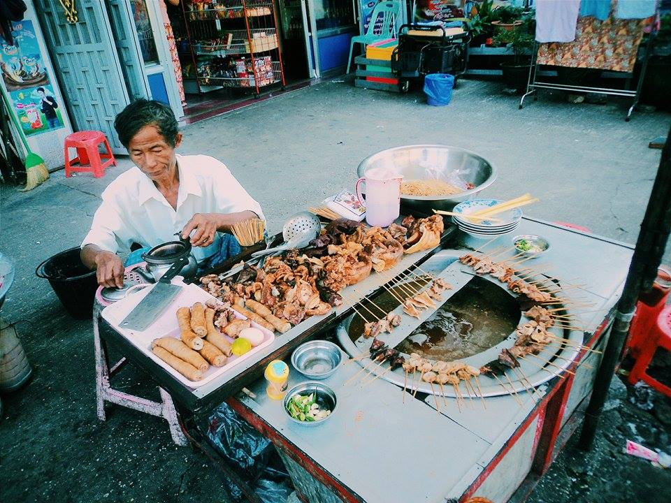 street food in Southeast Asia.