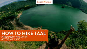 Hiking Taal Volcano in the Philippines is a great adventure travel that you should definitely do!