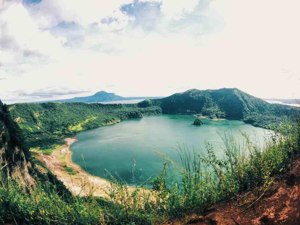 Top hiking Taal Volcano
