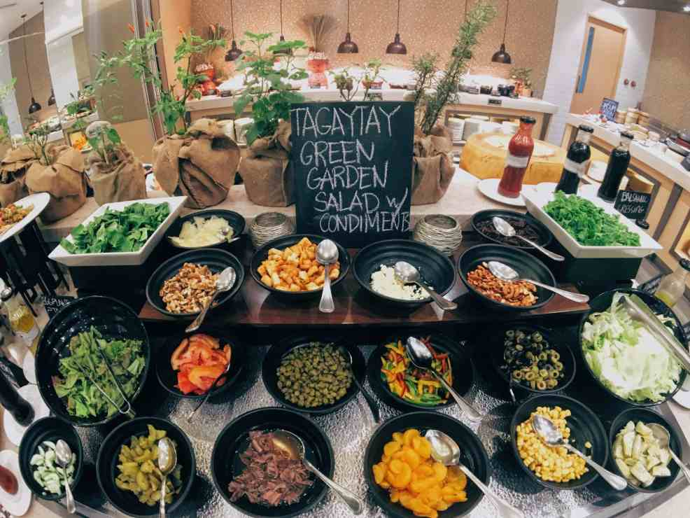 Vegetables at Cafe Veranda Restaurant