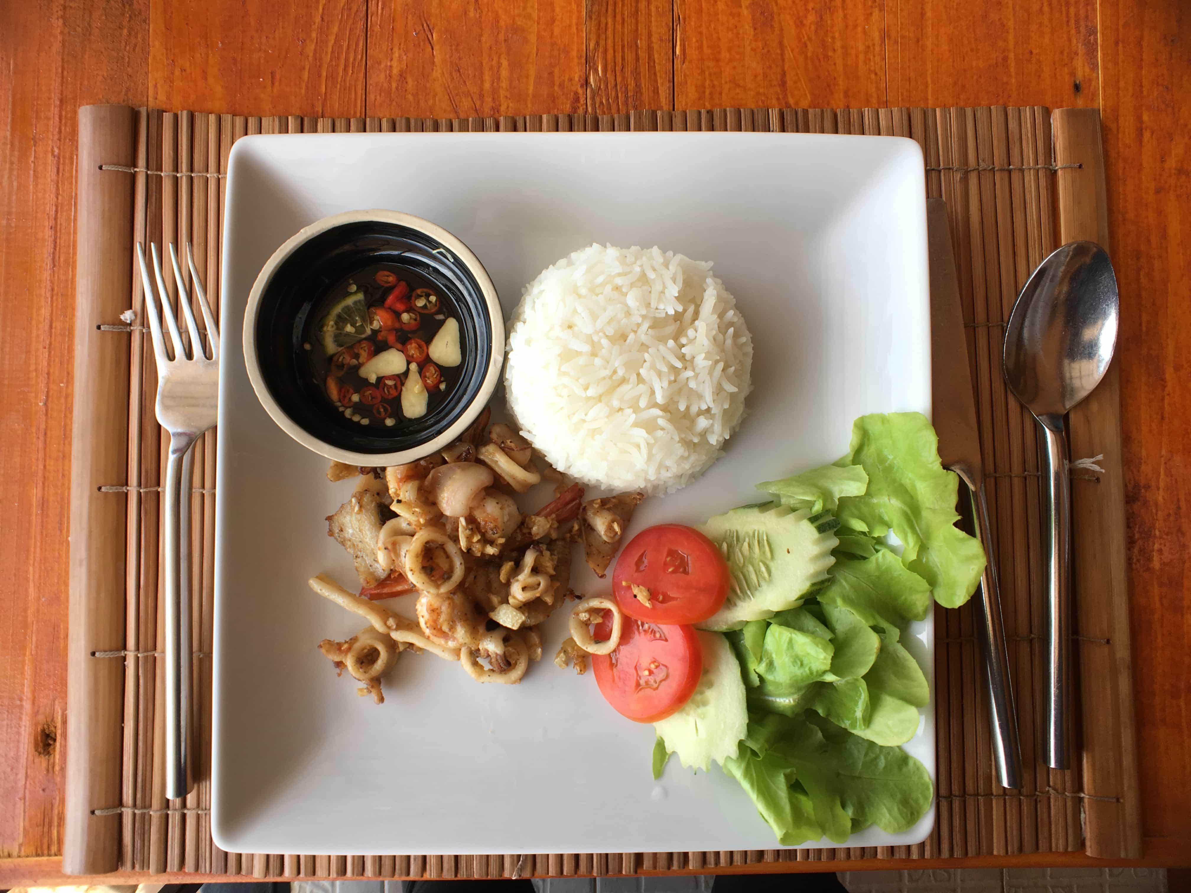 Thai food is amazing