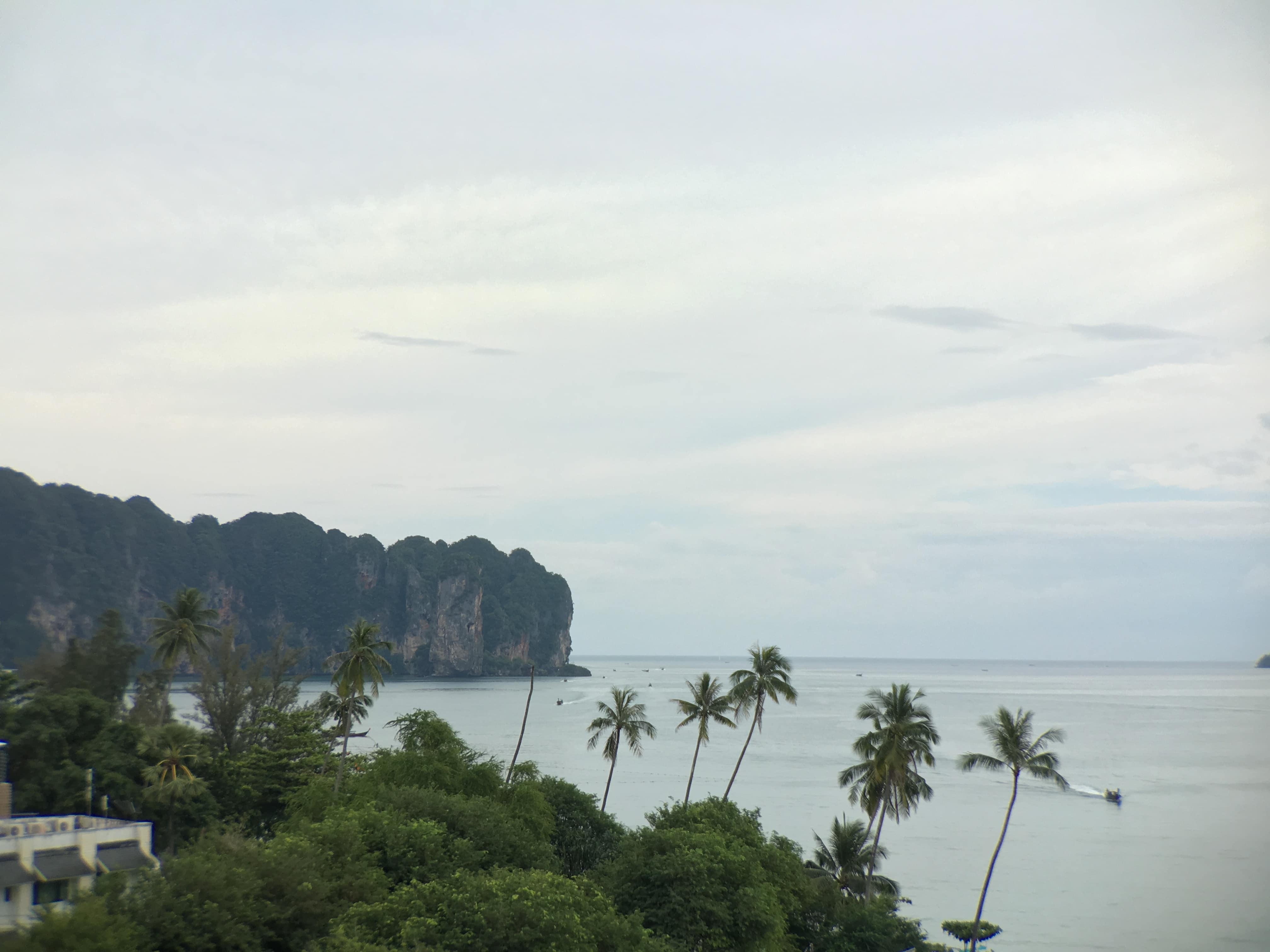 Views from the room in our luxury vacation in Thailand.