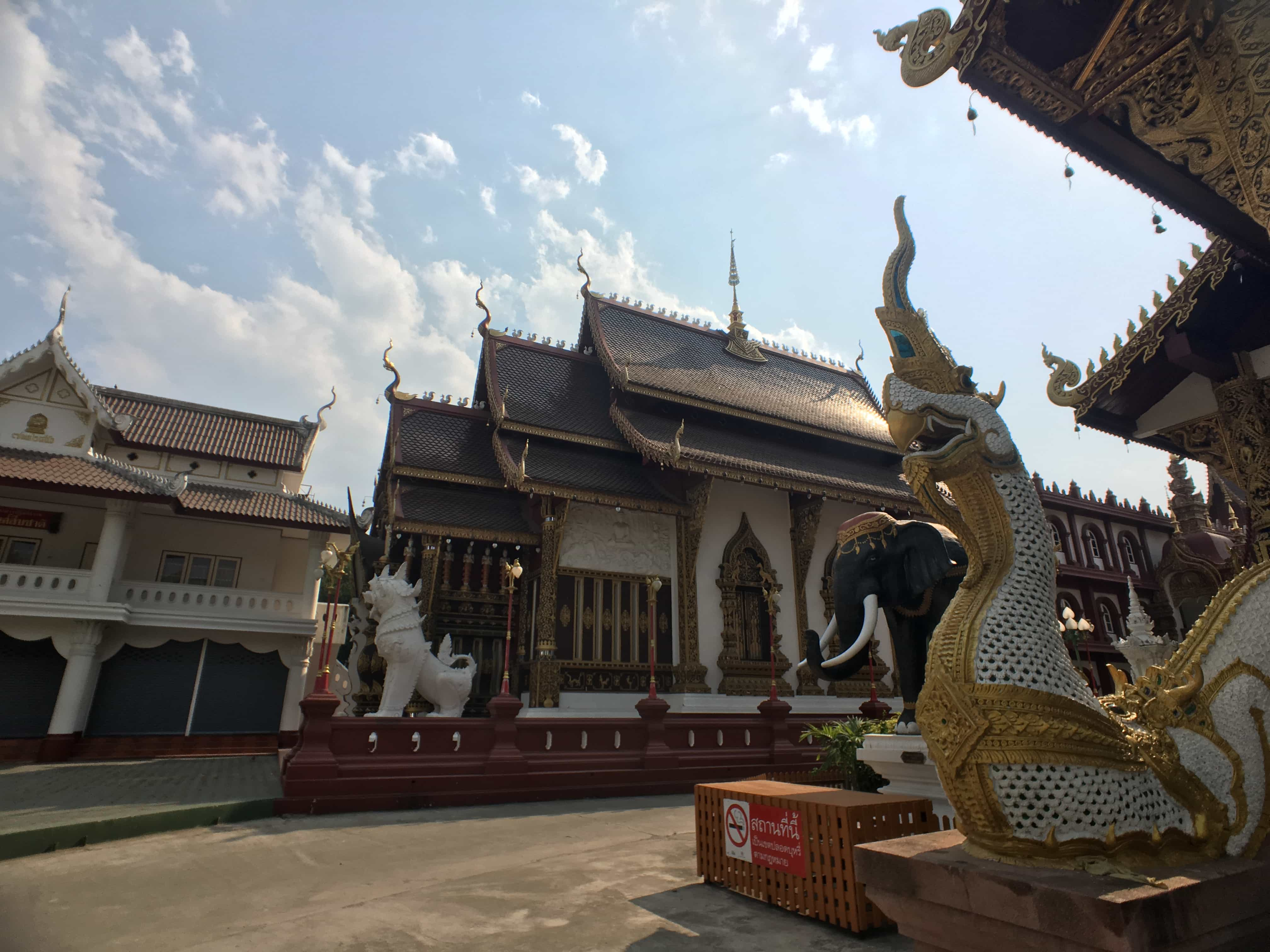 Temples when visit Chiang Mai