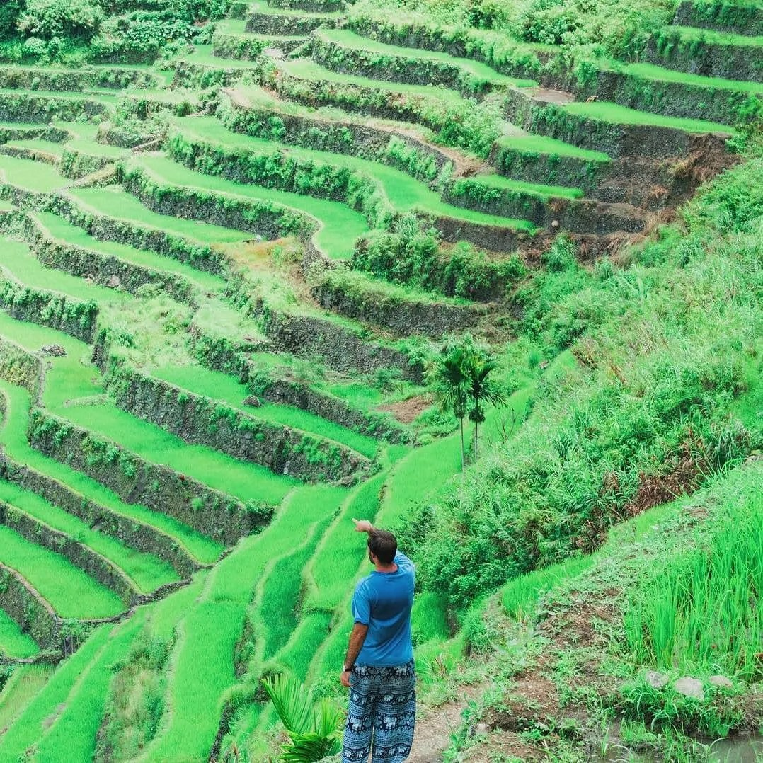 The views in Batad Rice Terraces