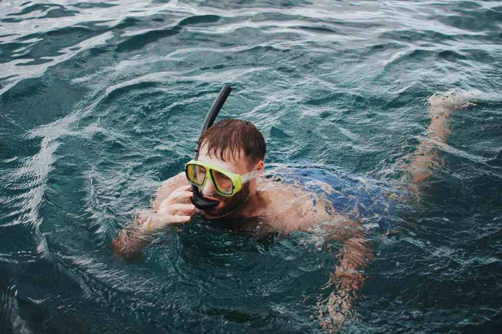 Nusa Lembongan has a rich underwater experience. Even snorkeling is really good.
