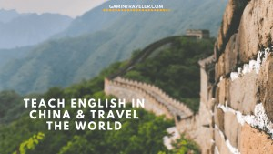Teach English in China and Travel the World – How to Get Started