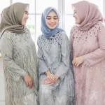 16 Model Baju Gamis Brokat Terbaru 2019