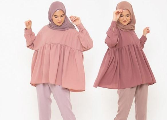 Warna Hijab yang Cocok untuk Baju Muslim Warna Merah Muda