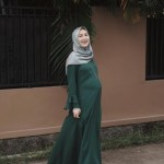22 Model Baju Muslim yang Nyaman untuk Wanita Hamil