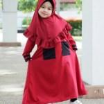 20 Trend Model Baju Gamis Syar'i untuk Anak-Anak