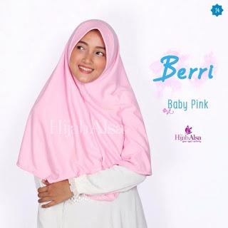 Hijab Alsa Berri Baby Pink
