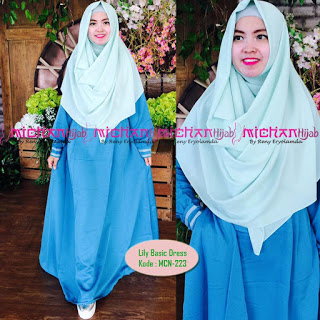 Gamis Michan Hijab Lily Basic MCN 223