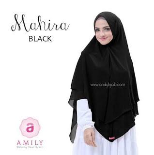 Hijab Amily Khimar Mahira Black