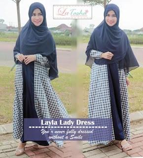 Gamis Latasha Layla Lady Dress
