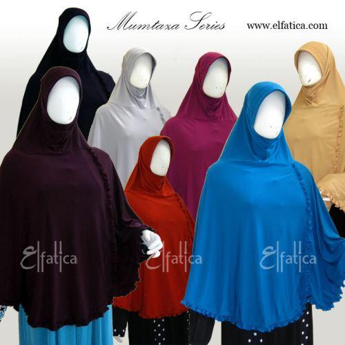 jilbab syar'i instan Elfatica model Mumtazza