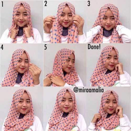 model-jilbab-pashmina-model-polkadot-mira-amalia