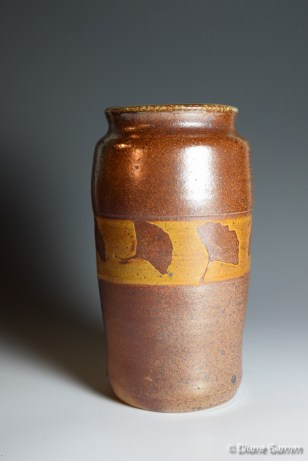 Vase with Gingko Leaves