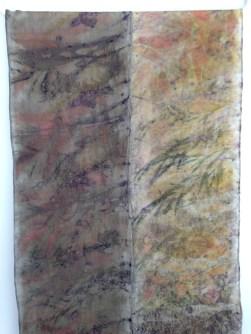 Eco print scarves
