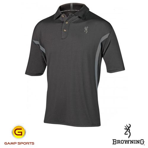 Browning Men S Hinge Polo Shooting Shirt Gamp Sports