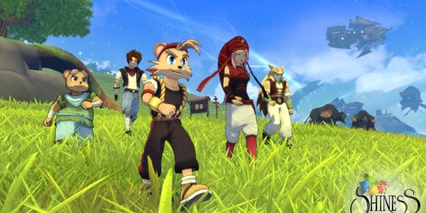 Shiness: The Lightning Kingdom is filled with great characters but the art style can lead to some bland character models
