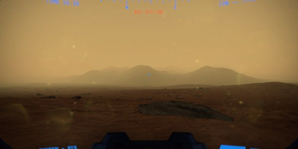 Mars is, as you'd expect very brown in our Lacuna Passage First Look