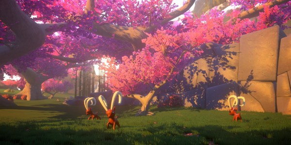 Yonder: The Cloud Catcher Chronicles has a lush world to explore