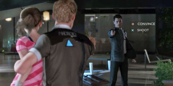 Detroit: Become Human Preview Hostage Negotiation Scene