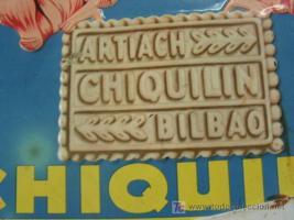 Las galletas Chiquilín mencionaban Bilbao hasta 1983