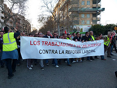 Manifestacion contra políticos
