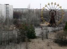 La ciudad abandonada de Prypiat, cerca de Chernóbil
