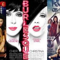Tres películas, tres estilos, tres épocas y sin diferencias entre ellas.