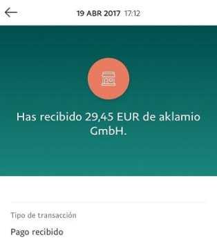Aklamio paga