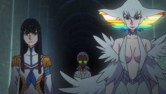 kill la kill episode 16 ragyo satsuki kiryuin