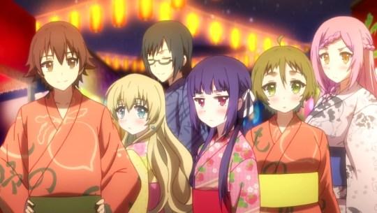 nourin episode 6 bekki, kinoshita, kousaku, minori, yoshida, rintarou