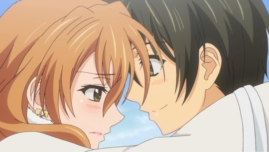 golden time kouko x banri
