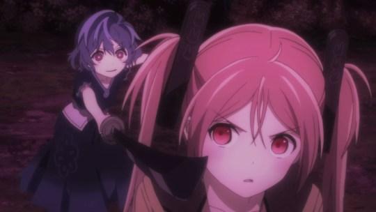 Black Bullet Enju vs Kohina